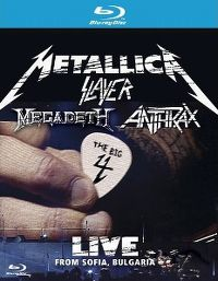 Cover Metallica / Slayer / Megadeth / Anthrax - The Big 4 - Live From Sofia, Bulgaria [DVD]